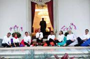 Jokowi Minta Stafsus Aminuddin Maruf Temui Demonstran UU Ciptaker