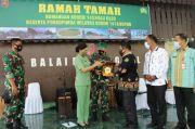 Resmikan Masjid Nurul Khurriyah, Brigjen TNI Jannie A Siahaan Bangun Sinergitas di Buton