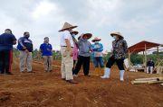 Progres Program Padat Karya Petani Terimbas COVID-19 Lebih Cepat dari Jadwal