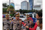 Cegah Corona, Anggota Polantas yang Ikut Pengamanan Unjuk Rasa Wajib Rapid Test