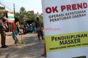 Tak Pakai Masker, 14 Warga Diciduk Satpol PP Pasar Minggu