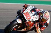 Takaaki Nakagami Tercepat dalam Pemanasan di motoGP Aragon 2020