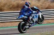 Juara! Alex Rins Ukir Sejarah Manis Suzuki di Sirkuit Aragon