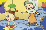 Lantai Rumah Sering Dikencingi Anak Kecil? Begini Cara Mengatasi Najisnya