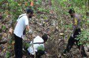 Geger Mayat Pria Tak Berbusana di Hutan Gunung Buthak Diduga Dibunuh
