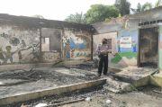 Sekolah PAUD Ludes Terbakar di Simalungun Kerugian Rp120 Juta