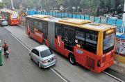Layanan Bus Transjakarta Dihentikan Sementara saat Aksi Demo