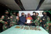 Prajurit Kostrad Sita 1 Kg Ganja di Perbatasan Papua
