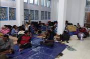 158 Rumah Terbakar, Ratusan KK Mengungsi ke Aula Dinas P dan P Provinsi Papua
