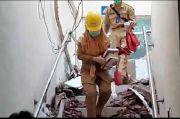 Atap RSUD Ciamis Ambruk, Pasien IGD dan COVID-19 Dipindahkan