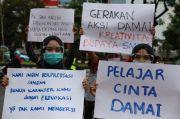 Demonstrasi Tolak Omnibus Law, Anak STM: Jangan Provokasi Kami!