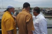 Tinjau Lokasi Banjir Rob, Gubernur Edy Akan Tertibkan Warga di Kawasan Hijau