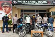 Komplotan Pencuri Motor asal Tanah Karo Ditangkap Polsek Saribudolok