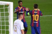Sumbang Gol Barcelona, Ansu Fati Ngaku Perlu Belajar dari Messi