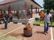 Ditresnarkoba Polda Kepri Musnahkan Barang Bukti 163,9 Gram Ganja