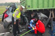 Kecelakaan Maut di Jalan Tol Kayuagung, Empat Tewas