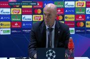 Rekor Kandang Madrid Dirusak Shakhtar Donetsk, Zidane Siap Pasang Badan