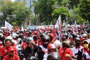 Bawa Petasan, Polisi Tangkap Penyusup Dalam Massa Demo Buruh Tolak Omnibus Law