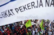 Aksi Kondusif, Massa Buruh Membubarkan Diri dengan Tertib