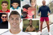 Nih! 8 Gaya Rambut Ronaldo Dari Masa Ke Masa, Kamu Suka Yang Mana