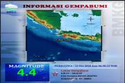 Banten Diguncang Gempa Tiga Kali, Goncangan Dirasakan hingga Sukabumi