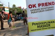 11.742 Warga Jakarta Terjaring Razia Masker pada Masa PSBB Transisi