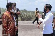 Jokowi Tersenyum Melihat Hasil Rintisan Mantan Mentan