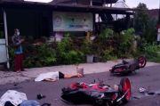 Pengendara Sepeda Motor Tabrakan, 2 Nyawa Melayang di Jalanan Turi