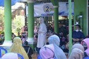 Paslon Bisa Dapat Dukungan dari Ibu-ibu di Desa Sukaraya