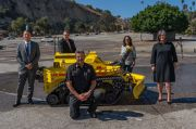 Robot Pemadam Kebakaran Resmi Diperkenalkan Di Los Angeles
