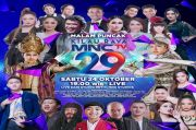 Spektakuler! Artis Top Tanah Air Meriahkan Konser Malam Puncak Kilau Raya MNCTV 29