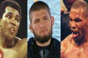 Tujuan Khabib Nurmagomedov Bukan Dekati Rekor Muhammad Ali dan Mike Tyson
