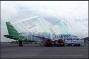 Layang-Layang Nyangkut di Landing Gear Pesawat Citylink Saat Mendarat di Bandara Adisutjipto