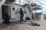 Tingkatkan Kemampuan, Gugus Keamanan Laut Gelar Passing Exercise
