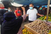Sambangi Pedagang, Akhyar : Percantik Pasar Simalingkar