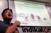 Elektabilitas Ganjar Konsisten Naik, Prabowo dan Anies Turun Naik