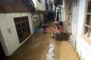 Sempat Banjir 1,5 Meter, Ketinggian Air di Villa Nusa Indah 2 Bogor Sudah Surut