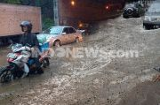 Tergenang Air Setingg 40 Cm, Jalan Jambore Cibubur Ditutup