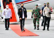 Kunjungi Sumut, Jokowi Tinjau Lumbung Pangan Baru dan Serahkan Sertifikat Tanah