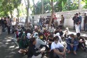 Ikut Demo Tolak Omnibus Law, Puluhan Pelajar di Banyuwangi Digaruk Polisi