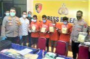 Polrestabes Medan Amankan Peredaran 5,980 Gram Sabu dan 4 Tersangka Jaringan Internasional