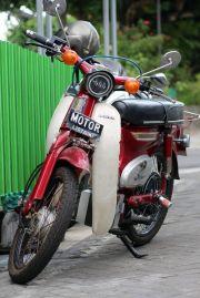 Pertama di Indonesia, Honda Cipitung C70 Bermesin Listrik!