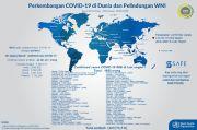 12 Kasus Baru, Total 1.685 WNI Positif Covid-19