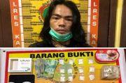 Edarkan 236 Pil Sapi Remaja Gondrong di Kapuas Dibekuk Polisi