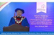 Rektor UP Ingatkan Wisudawan Pentingnya Kuasai Soft Skills dan Hard Skills