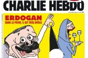 Setelah Nabi Muhammad, Charlie Hebdo Pajang Kartun Erdogan Cabul