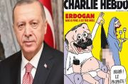 Murka, Erdogan Sebut Charlie Hebdo Bajingan