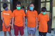 4 Bandit Pemalsu Uang Dicokok Polrestabes Bandung