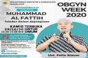 Pengajian Virtual Ustadz Felik Siauw Tentang Teladan Dalam Kepemimpinan Diprotes Netizen, UGM Pilih Membatalkan