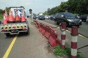 Lalu Lintas Tol Jakarta Cikampek Padat, Jasa Marga Berlakukan Contraflow di KM 47-61